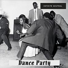 infinite neutral dance party album cover with black peope dancing